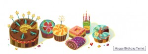 Happy Birthday from Google